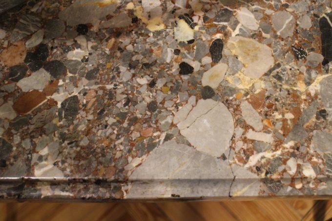 Detalle del mármol